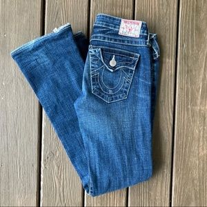 True Religion Becky Bootcut Jeans